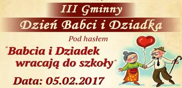 Iii Gminny Dzień Babci I Dziadka W Jelnicy Zaproszenie