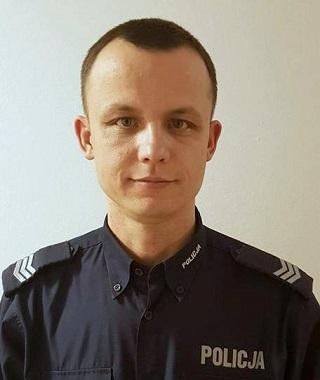 sierż szt. Piotr Grzeszyk