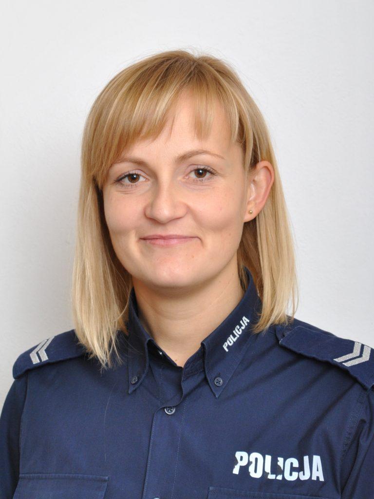 sierż. szt. Barbara Krupska