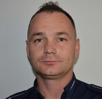 mł. asp. Andrzej Dudziuk