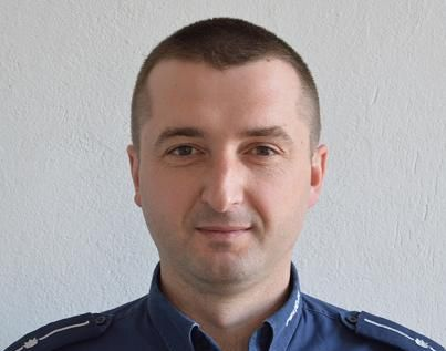 mł. asp. Marek Szczepaniuk