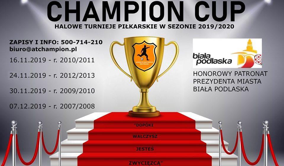 19 11 sport_chapion cup turniej miedzy narodowy startowe