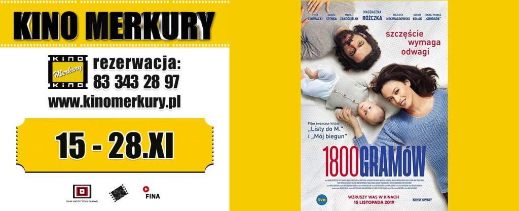 19 11kino merkury_akcja filmu 1800 gramow