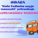 Biała Podlaska szyje maseczki i potrzebuje mobilnych wolontariuszy. Dołącz i Ty!