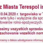 Otwarcie targowiska miejskiego w Terespolu