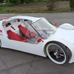 Osobliwości Płd. Podlasia: Jedyny taki pojazd na świecie. Zbudował go mieszkaniec Kodnia