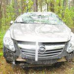 Kryminałki: Na łuku drogi straciła panowanie nad pojazdem
