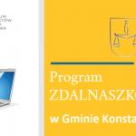 Gmina Konstantynów otrzymała dofinansowanie na zakup 20 laptopów do zdalnej nauki