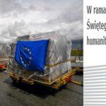 Wieści z Unii: Humanitarny most powietrzny