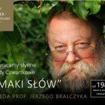 Prof. Jerzy Bralczyk w Zamku w Janowie Podlaskim (zaproszenie)