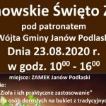 Janowskie Święto Ziół (zaproszenie)