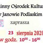 Kolejny Pchli Targ w Janowie Podlaskim (zaproszenie)