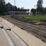 Łomazy: Przebudowa stadionu wkroczyła w decydującą fazę (galeria)
