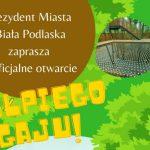 """Oficjalne otwarcie """"Małpiego Gaju"""" (zaproszenie)"""