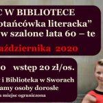 Potańcówka literacka w Sworach (zaproszenie)