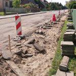 Łomazy: Rozpoczął się remont ul. Podrzecznej i Topolowej (galeria)