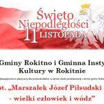 """Rokitno: Konkurs plastyczny """"Marszałek Józef Piłsudski – wielki człowiek i wódz"""" (zaproszenie)"""