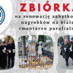 Zbiórka na renowację nagrobków na bialskim cmentarzu w tym roku online
