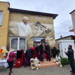 Wysokie: Mural pamięci Świętego Jana Pawła II odsłonięty