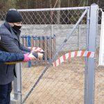 Wybieg dla psów przy Schronisku Azyl oficjalnie otwarty (galeria)