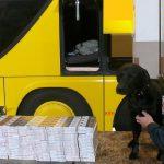 Terespol: Autokarami podróżują nie tylko turyści… właśnie ujawniono duży przemyt papierosów