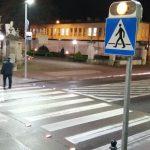 Biała Podlaska: Budowa inteligentnego przejścia dla pieszych (film)