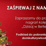 Mieszkańcy gminy Kodeń będą śpiewać kolędę online (zaproszenie)