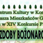 """Konstantynów: XIV Konkurs Plastyczny """"Anioły i Ozdoby Bożonarodzeniowe"""" (zaproszenie)"""