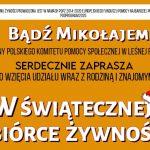 Świąteczna zbiórka żywności w Leśnej Podlaskiej (zaproszenie)
