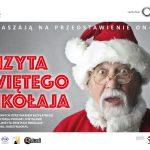 """Radzyń Podlaski: """"Wizyta Świętego Mikołaja"""" na ekranie"""