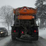 Informacja o odśnieżaniu dróg w Międzyrzecu Podlaskim