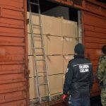 Terespol: Papierosy warte ponad 100 tys. zł ukryte w pociągu towarowym