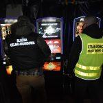 Włodawa: Nielegalne automaty do gier ujawnione przez KAS i SG