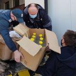 Łuków: Kolejne partie alkoholu przekazane przez KAS na walkę z pandemią