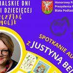 """""""Jak oswoić emocje?"""" Spotkanie autorskie online z Justyną Bednarek (zaproszenie)"""