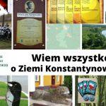 """IX edycja konkursu """"Wiem wszystko o Ziemi Konstantynowskiej"""" (zaproszenie)"""