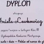 """Łomazy: Aniela Lewkowicz """"w podróży"""" z nagrodą z Rzeszowa"""