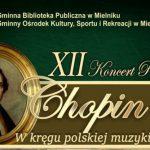 """XII Koncert Plenerowy """"Chopin nad Bugiem 2021"""" (zaproszenie)"""
