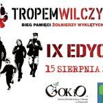 IX Bieg Tropem Wilczym w Wisznicach (zaproszenie)