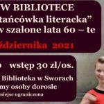 """""""Potańcówka literacka"""" w Sworach (zaproszenie)"""