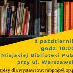 Kiermasz książki przeczytanej w Międzyrzecu Podlaskim (zaproszenie)