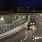 Kierowcy korzystają z nowego skrzyżowania bezkolizyjnego w Białej Podlaskiej