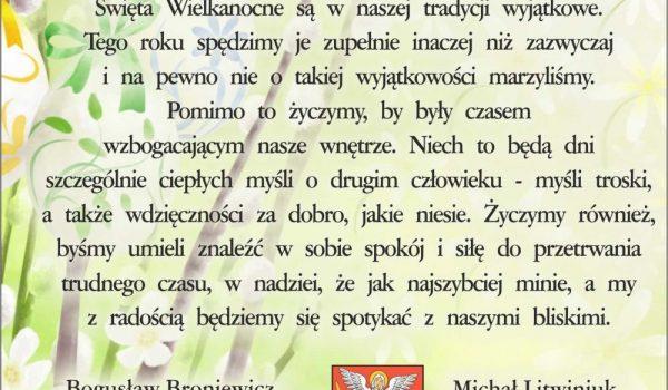 życzenia - Biała